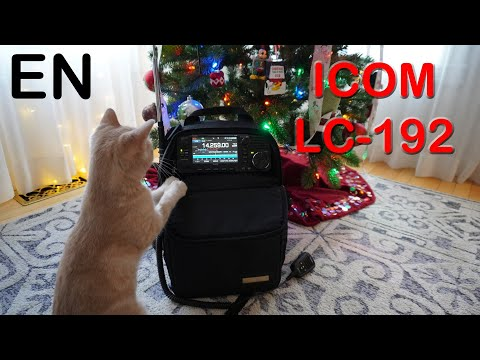 ICOM LC-192 - IC-705 QRP backpack review