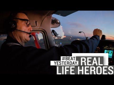 """""""Real Life Hero"""" Frank: Staureporter mit Weitblick - #BeatYesterday aus der Luft"""