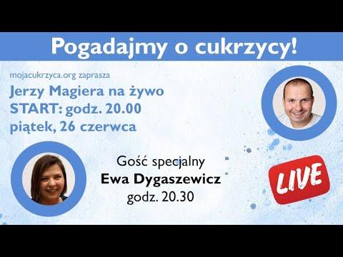 Pogadajmy o cukrzycy - NA ŻYWO - gość specjalny - Ewa Dygaszewicz