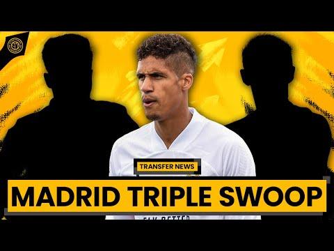 """United Target Madrid Triple Swoop""""!    Man United Transfer News"""