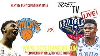 (LIVE) NEW ORLEANS PELICANS VS. NY KNICKS (07/05/19) SUMMER LEAGUE GAME BREAKDOWN (NO VIDEO FOOTAGE)