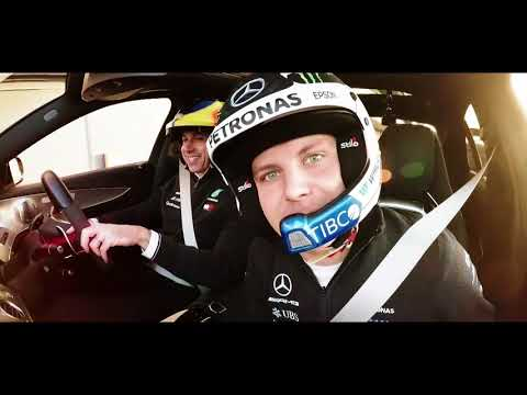 Drive the Boss! Toto and Valtteri Tear It Up at Silverstone