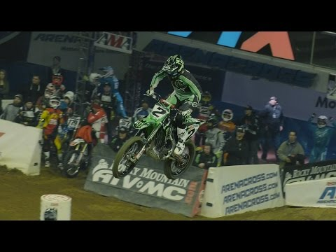 FAST LAP: Jacob Hayes - Allentown / Friday - AMSOIL Arenacross
