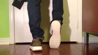new styles 9b5fa 77326 Women s Nike Roshe Two Olive Flax Unboxing Video at Exclucity