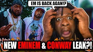 New Eminem & Conway Song Leaked?! (REACTION!)
