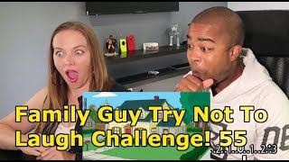 Family Guy Try Not To Laugh Challenge! l Family Guy Funniest Moments #55 (Jane and JV's REACTION 🔥)