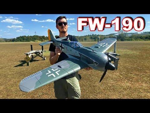 Focke Wulf FW190 RC Airplane Maiden - TheRcSaylors - UCYWhRC3xtD_acDIZdr53huA