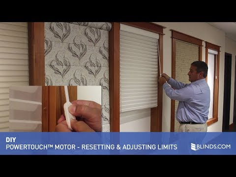How to Reset Motor and Adjust Limits in Your PowerTouch™ Motor