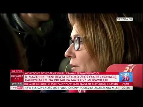 Mazurek: Mateusz Morawiecki kandydatem na premiera