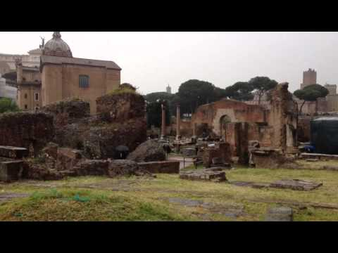 Video op YouTube: Forum Romanum in Rome
