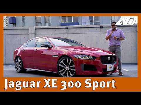 Jaguar XE - EL caballero británico de los sedanes deportivos