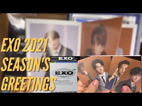 Vidéo UNBOXING EXO SEASONS GREETING 2021 EN FRANCAIS
