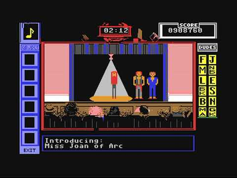 Commodore 64: Bill and Ted's Excellent Adventure game ending by Capstone