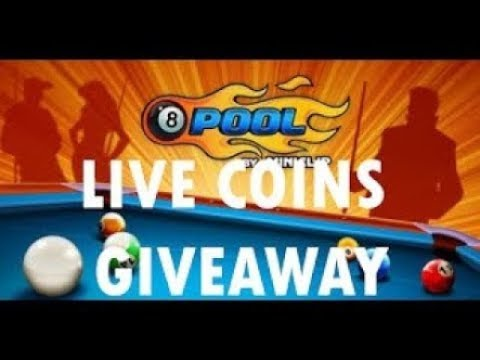 My 8 Ball Pool Stream fre coins for all ID in discription