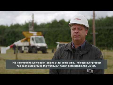 Siemens Fusesaver reference vid in cooperation with UK Power Networks