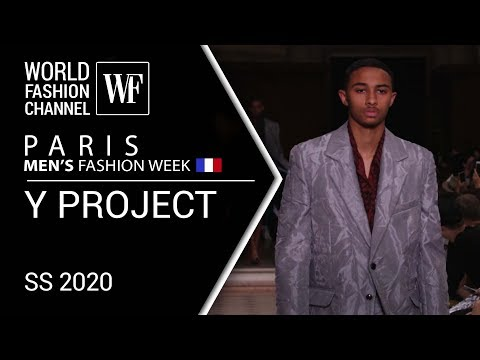 Y PROJECT |  PARIS MEN'S FASHION WEEK | SPRING-SUMMER 2020