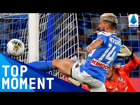 Cagliari 0-1 Napoli | Mertens Wins the Match with a Brilliant Strike! | Top Moment | Serie A TIM