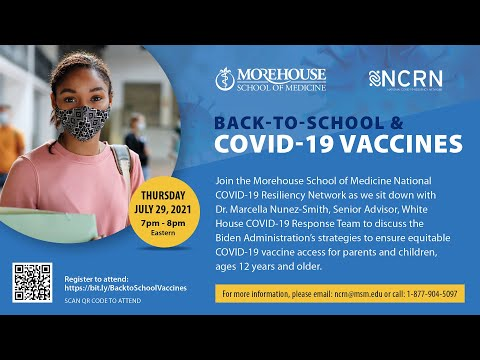 Equitable Access to COVID-19 Vaccines: A Conversation with Dr. Marcella Nunez-Smith