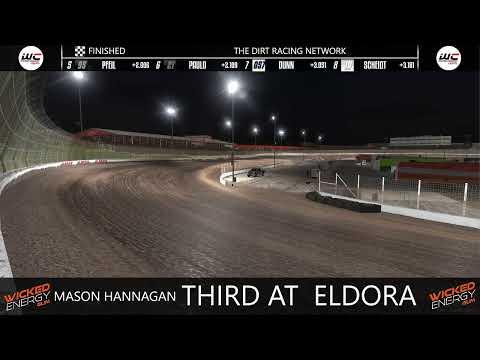 Dirt Slingers Monday Night Thunder Season 13 Week 7 @ Eldora OPEN - dirt track racing video image