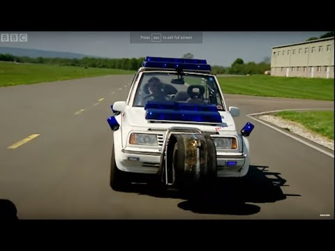 Police Car Challenge Part 1 Top Gear