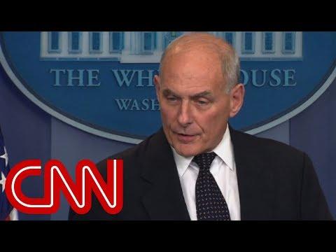 Gen. Kelly speaks at White House (full remarks)