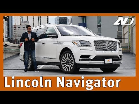 Lincoln Navigator ? - ¡Quítate! Soy dueño de la calle.