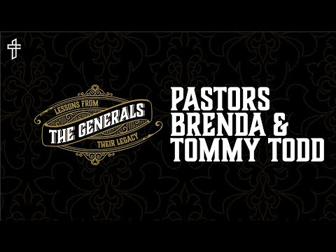 Life Messages Interview // The Generals // Pastors Brenda & Tommy Todd