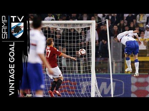 Vintage Goal: Pazzini vs Roma