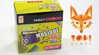 Family Quizz Musique 80's & 90's - Démo en français
