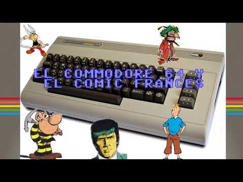 Commodore64 para Sinvers, HOY: Comic en Francés en C64 REAL 50Hz