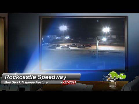 """Rockcastle Speedway - Mini-Stock """"Make-up"""" Feature - 8/27/2021 - dirt track racing video image"""