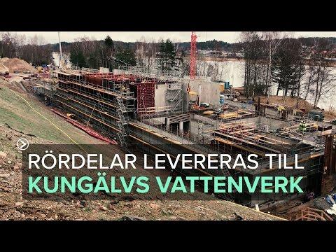 Kungälvs vattenverk växer fram mars 2017