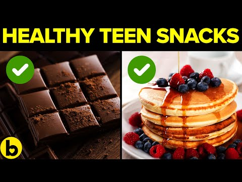 12 Healthy And Tasty Snacks For Teens