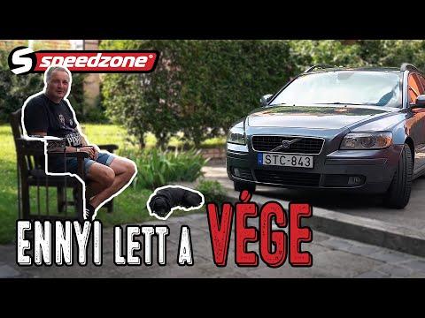 Speedzone használtteszt: Volvo V50 1.6d (2006): Ennyi lett a vége