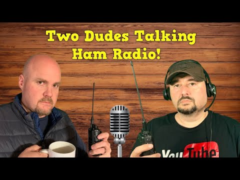 Two Dudes Talking Ham Radio: Power Poles and Antennas... what more could you ask for?