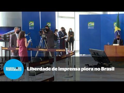 Liberdade de imprensa piora no Brasil de Bolsonaro