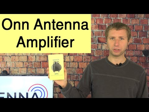 Onn Indoor/Outdoor Antenna Amplifier and Signal Booster Review