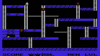 Lode Runner USA Part  HYPERSPIN VIC 20 VIC20 COMMODORE NOT MINE VIDEOS1