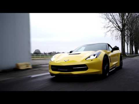 Akrapovic Evolution Line exhaust on Chevrolet Corvette Stingray By BR-Performance