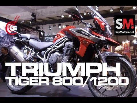 Triumph Tiger 800 + 1200 2018 / EICMA 2017 [FULLHD]