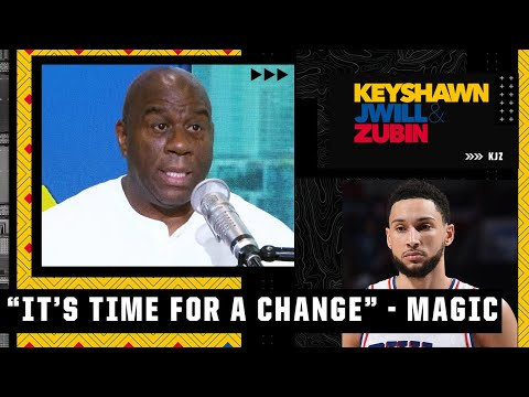 Ben Simmons 'can't recover from this' - Magic Johnson on the 76ers losing Game 7 | KJZ