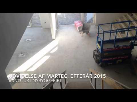 Udvidelse af MARTEC, Efterår 2015