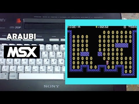 Beard and Coin (Cobinee, 2017) MSX [494] Walkthrough Comentado