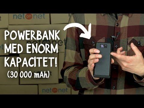 Powerbank med enorm kapacitet och flera USB-portar (Andersson PRB 3.6)