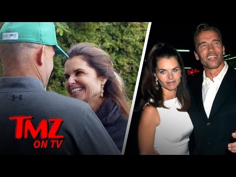 Maria Shriver All Smiles With Her Boyfriend But What About Arnold? (TMZ TV)