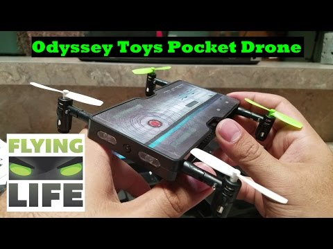 Odyssey Toys POCKET DRONE Never Leave Home without Your Drone - UCrnB6ZMrvEgOIOcARehRqQg