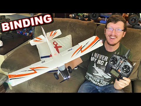 How to Bind a Transmitter to an RC Plane (Spektrum Edition) - What is BNF vs RTF? - TheRcSaylors - UCYWhRC3xtD_acDIZdr53huA