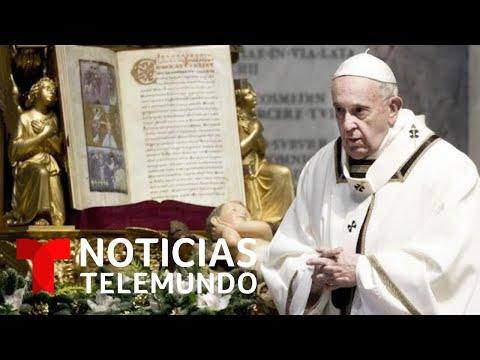 Papa Francisco reafirma que las mujeres no serán sacerdotes   Noticias Telemundo