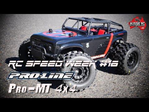 RC SPEED WEEK #18 - Proline Pro-MT 4x4 with Hobbywing Max8 - UCOfR0NE5V7IHhMABstt11kA