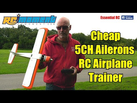 *FIRST CHEAP RC AIRPLANE TRAINER WITH AILERONS* DHC-2 A600 5CH 3D6G SYSTEM: ESSENTIAL RC FLIGHT TEST - UChL7uuTTz_qcgDmeVg-dxiQ